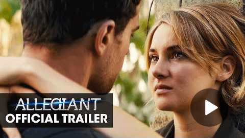 The Divergent Series: Allegiant Official Trailer The Truth Lies Beyond
