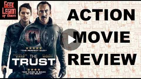 THE TRUST ( 2016 Nicolas Cage ) Action Movie Review