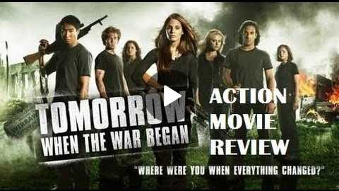 TOMORROW , WHEN THE WAR BEGAN ( 2010 ) Action Movie Review