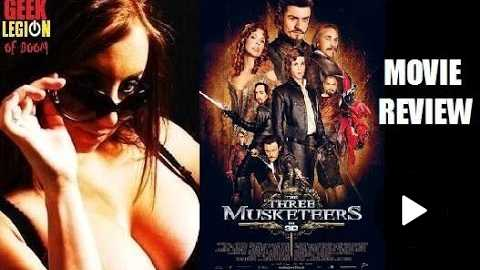 THE THREE MUSKETEERS ( 2011 Orlando Bloom ) Zara's Action Movie Review