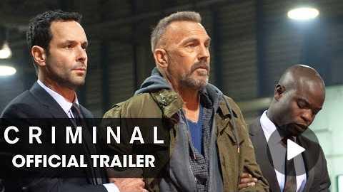 Criminal (2016 Movie) Official Trailer Remember