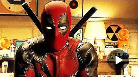 DEADPOOL 2 New Trailer Ryan Reynolds, Superhero Comedy Movie