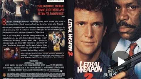 Lethal Weapon 2 (1989) Movie Review - Part 1 of 2