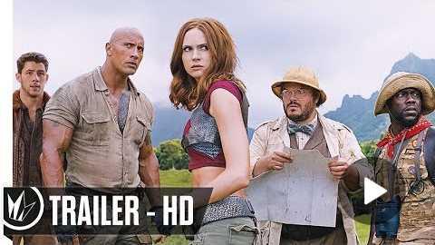 Jumanji: Welcome to the Jungle Official Trailer #2 (2017) Dwayne Johnson - Regal Cinemas [HD]