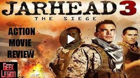 JARHEAD 3 : THE SIEGE ( 2016 Scott Adkins ) Action Movie Review