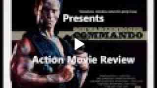 COMMANDO ( 1985 Arnold Schwarzenegger ) Action Movie Review
