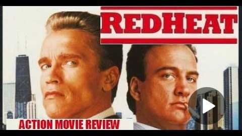 RED HEAT ( 1988 Arnold Schwarzenegger ) Action Movie Review