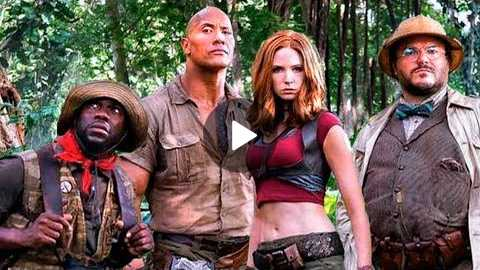 Go Behind the Scenes of JUMANJI 2 : Welcome to the Jungle (Trailer Tease)