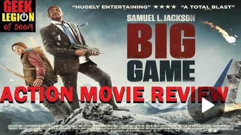 BIG GAME ( 2015 Samuel L. Jackson ) Action Movie Review