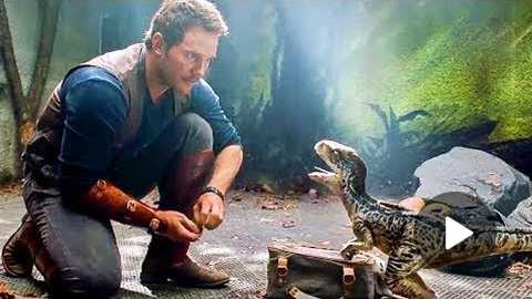 JURASSIC WORLD 2 First Look Trailer Jeff Goldblum, Chris Pratt Action Movie HD