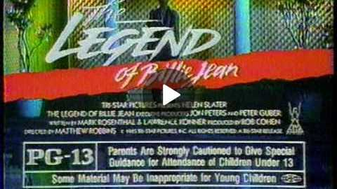 'The Legend of Billie Jean' (1985) TV spot