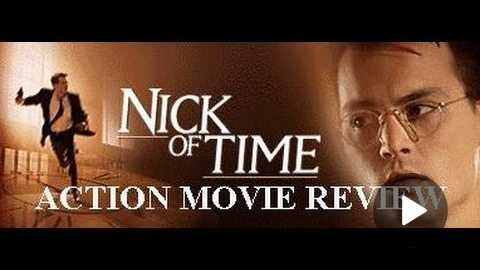 NICK OF TIME ( 1995 Johnny Depp & Christopher Walken ) Action Movie Review