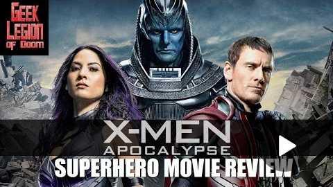 X-MEN : APOCALYPSE ( 2016 Michael Fassbender ) Superhero Movie Review