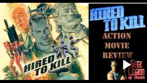 HIRED TO KILL ( Brian Thompson 1990 ) Action Movie Review