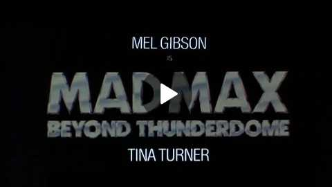 Official Trailer: Mad Max Beyond Thunderdome (1985)