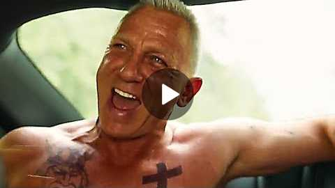 Daniel Craig is Joe BANG in LOGAN LUCKY Trailer (Comedy - 2017)