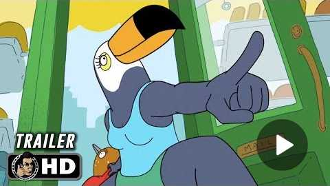 TUCA & BERTIE Official Trailer (HD) Ali Wong, Tiffany Haddish Series