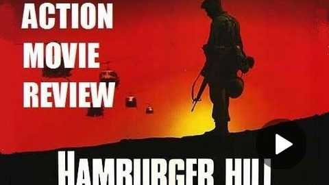 HAMBURGER HILL ( 1987 Don Cheadle ) Vietnam War Action Movie Review