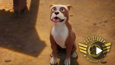 SGT. STUBBY Official US Trailer (2018)