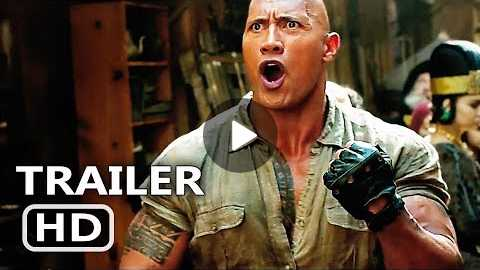 JUMANJI 2 International Trailer # 3 (2017) New Footage, Dwayne Johnson Adventure Movie HD