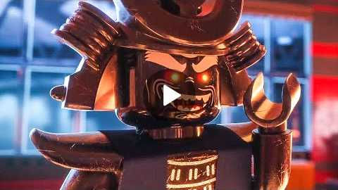 THE LEGO NINJAGO MOVIE Comic-Con Trailer (2017)