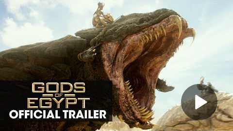 Gods of Egypt (2016 Movie - Gerard Butler) Official Trailer Battle For Mankind