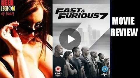 FAST & FURIOUS 7 ( 2015 Vin Diesel ) Zara's Action Movie Review