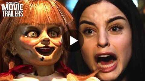 ANNABELLE COMES HOME Trailer (Horror 2019) - Patrick Wilson, Vera Farmiga Movie