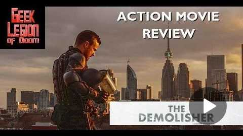 THE DEMOLISHER ( 2015 Ry Barrett ) Action Movie Review
