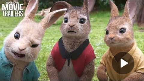 PETER RABBIT | Daisy Ridley, Margot Robbie & Elizabeth Debicki are Cottontail, Flopsy & Mopsy
