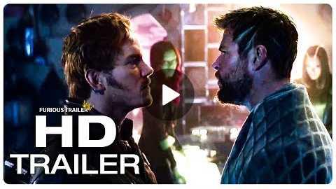 AVENGERS INFINITY WAR Thor Vs Star Lord Trailer (2018) Superhero Movie Trailer HD