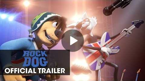 Rock Dog (2017 Movie) Official Trailer