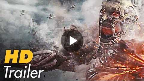 ATTACK ON TITAN Movie Trailer 3 Extended (2015) Live Action Film