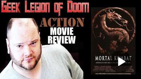 MORTAL KOMBAT ( 1995 Christopher Lambert ) Video Game Action movie review