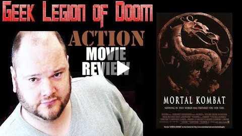 MORTAL KOMBAT ( 1995 Christopher Lambert ) Video Game Action movie review