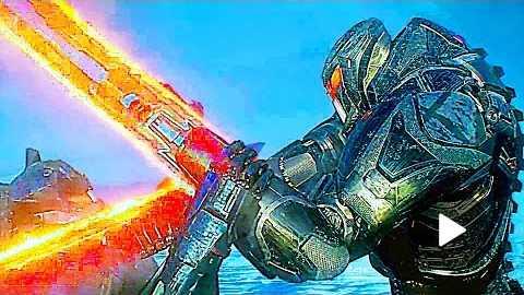 PACIFIC RIM 2 International Trailer Fighting Robots, Sci-Fi Movie HD