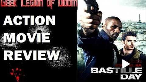 BASTILLE DAY ( 2016 Idris Elba ) aka THE TAKE Action Movie Review